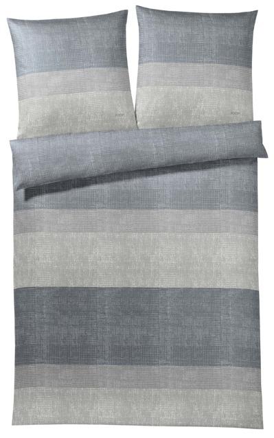 poszewka satynowa joop sparkling stripes grey 100. Black Bedroom Furniture Sets. Home Design Ideas