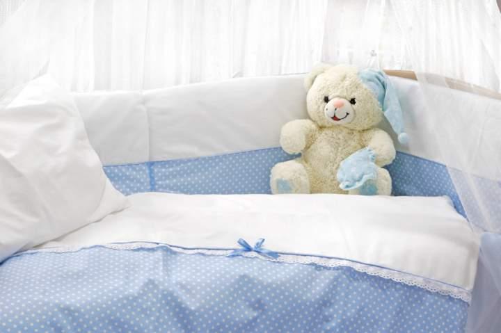 niebieska pościel dziecięca - zdjęcie