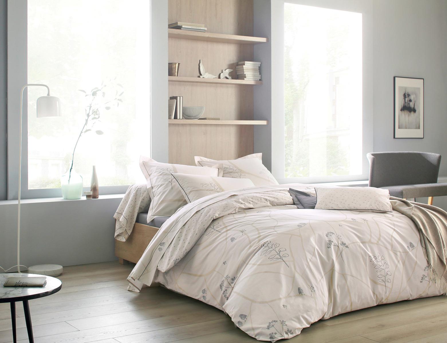 komplet po cieli perkalowej blanc des vosges l 39 oiseau lin komplet po cieli sklep online. Black Bedroom Furniture Sets. Home Design Ideas