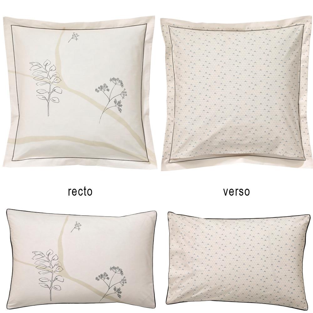 poszewki perkalowe blanc des vosges l 39 oiseau lin pojedyncze poszwy i poszewki sklep online. Black Bedroom Furniture Sets. Home Design Ideas