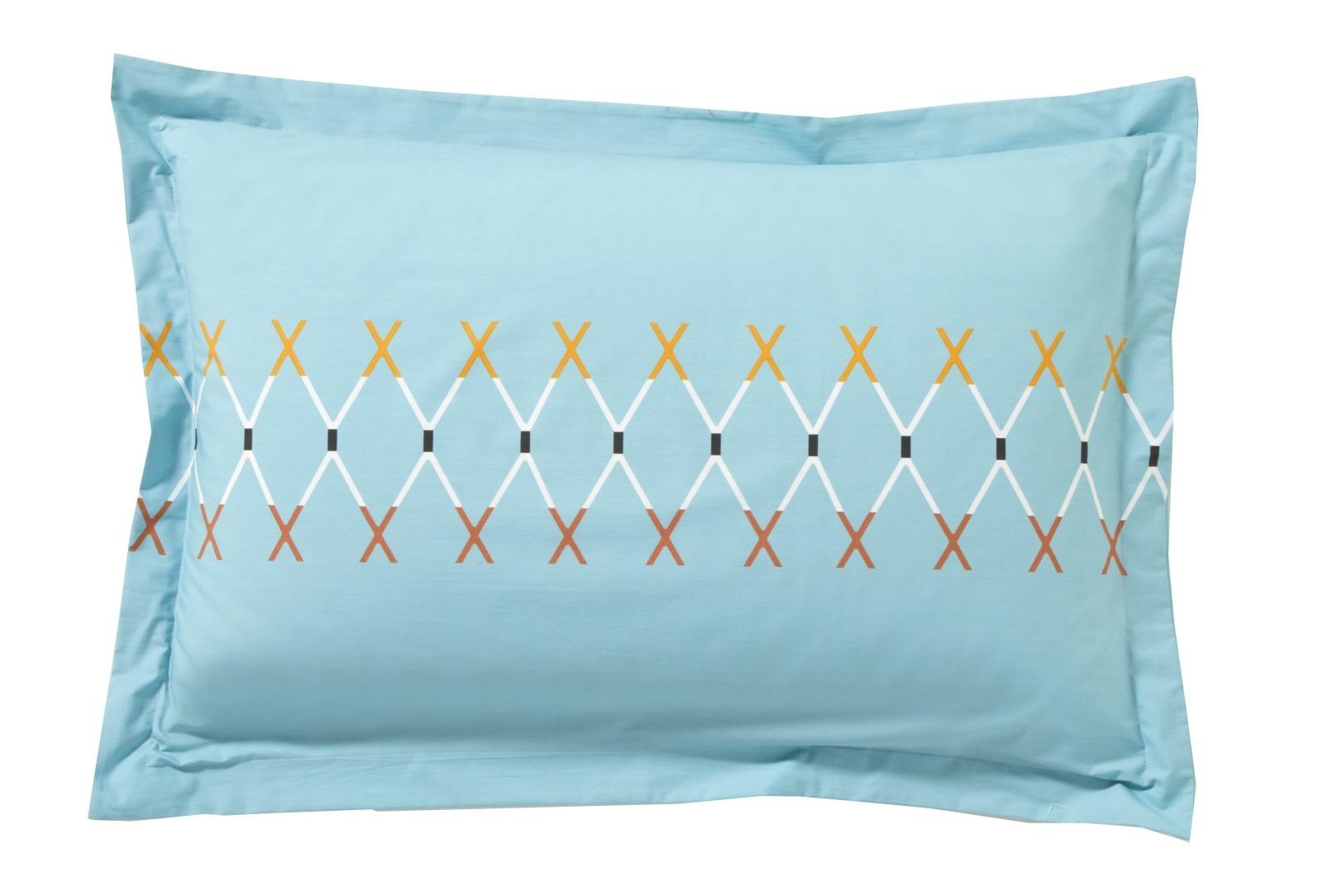 poszewki perkalowe blanc des vosges vespa celadon poszewki. Black Bedroom Furniture Sets. Home Design Ideas