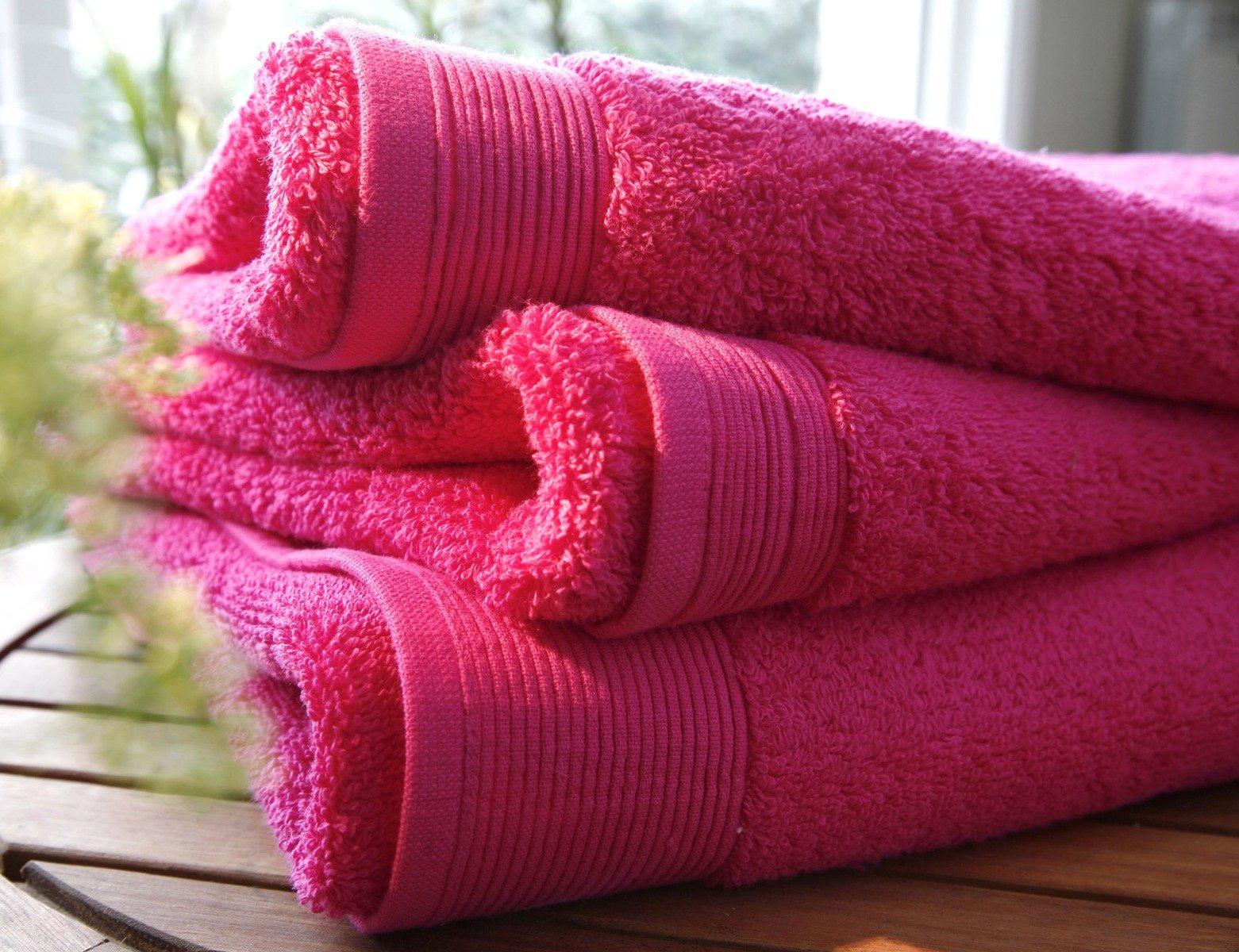ręcznik blanc des vosges uni fuksja ręcznik sklep internetowy podpierzyna