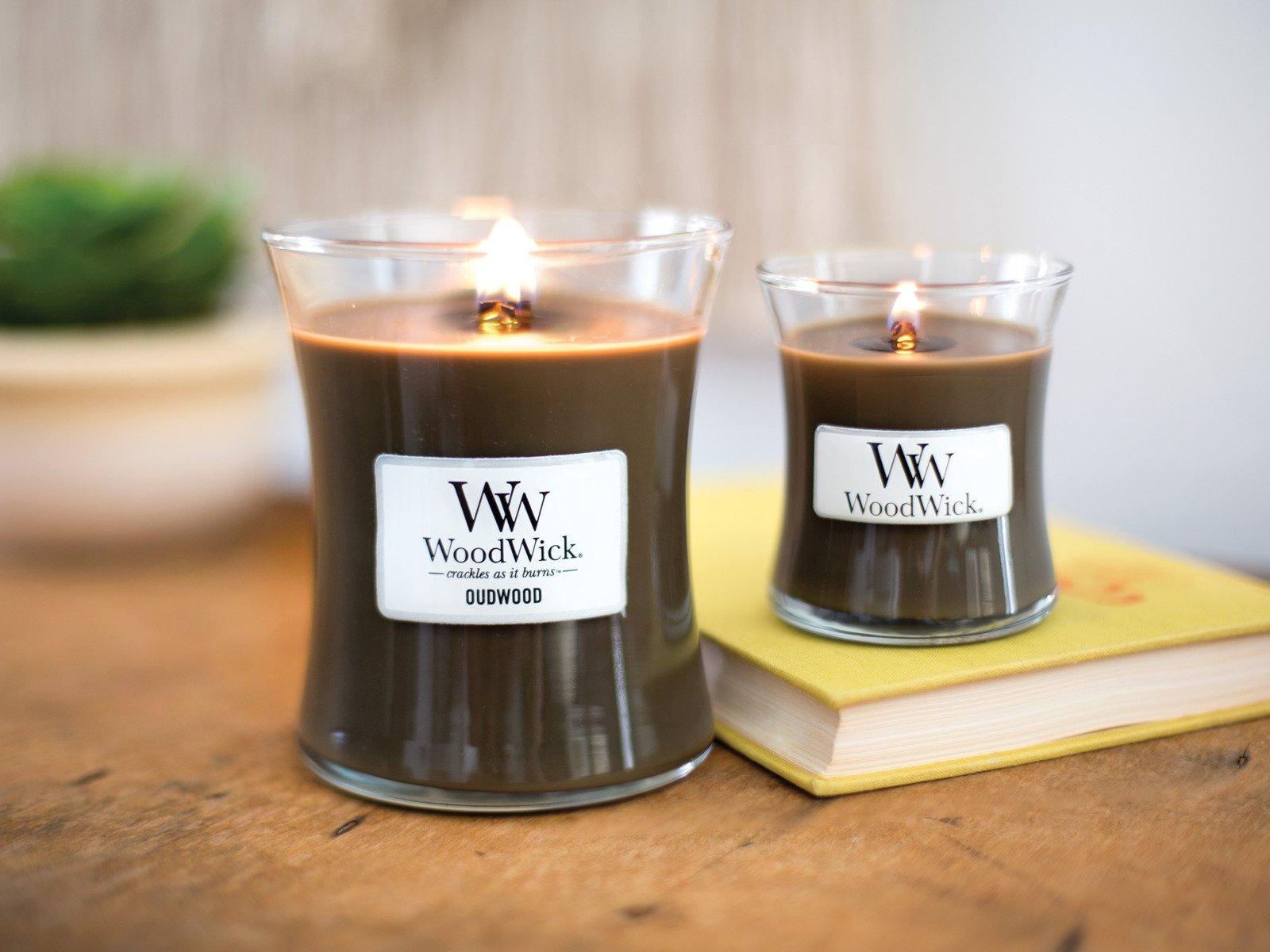 świeca Zapachowa Woodwick Core Oudwood